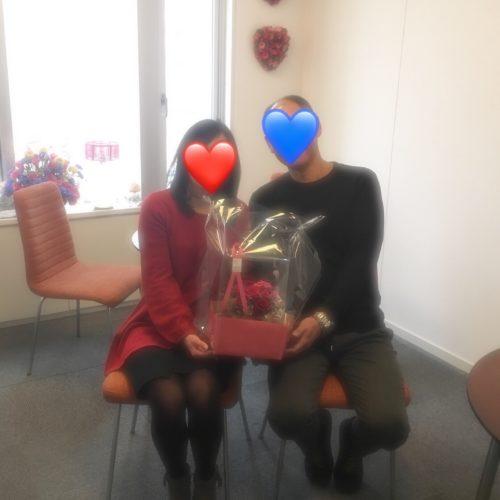 アラフィフ男性 婚活成功 おめでとうございます!