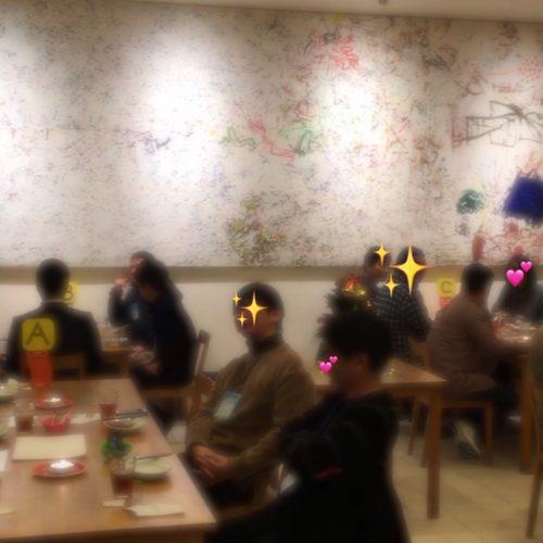 堺市で12月8日グルメと素敵な出会い婚活パーティーの様子💓